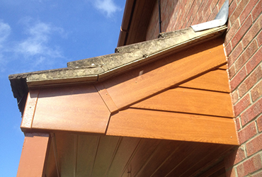 Light Oak cladding
